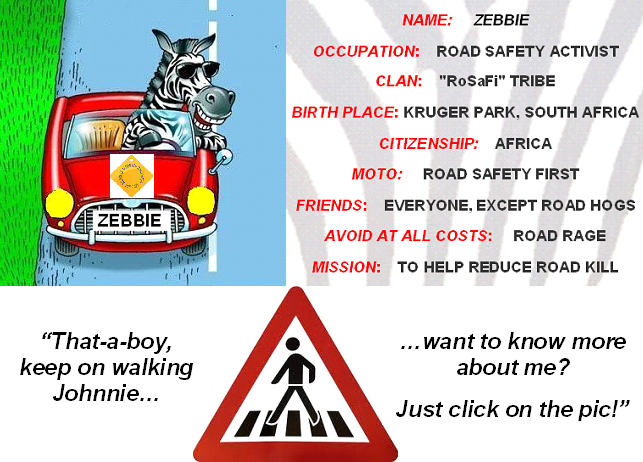 Zebbie and Decade of Road Safety intro